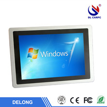 America Hot Sell Delong kiosk 15 inch RJ45 interface window all in one pc