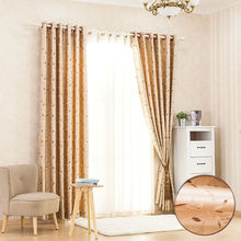 Rural short curtain finished custom window curtain