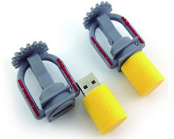 PVC Rubber hardware tool gift turnscrew usb flash drive promotion