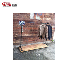 clothing store supermarket display stand movable beverage clothing wire mesh dump bin