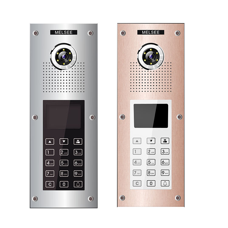 melsee product video intercom system with moniter with factory price