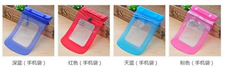 universal Cell Phone Waterproof Dry Pouch Bag Case for samsung for apple phone