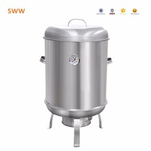 Gardening ceramic smoker portable charcoal bbq grill