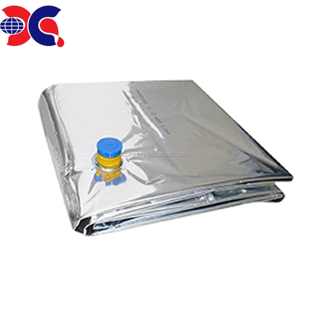 Aluminum foil 220L aseptic bag for drum