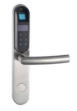 Fingerprint Digital Pin Code Lock With Touch Screen Keypad
