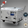 BISON China Taizhou 10kva 220v/380V Single Phase Silent With AVR Diesel Generator 10 Kva
