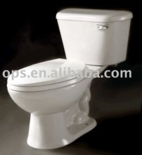 UPC Certified Siphonic Jet Two Piece Toilet (T/X-6810E)