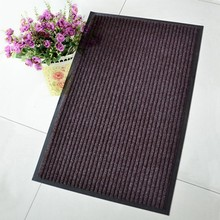 Heavy Duty Non-Slip Dirtproof Ribbed PVC Door Mat for lobby and indoor or outdoor