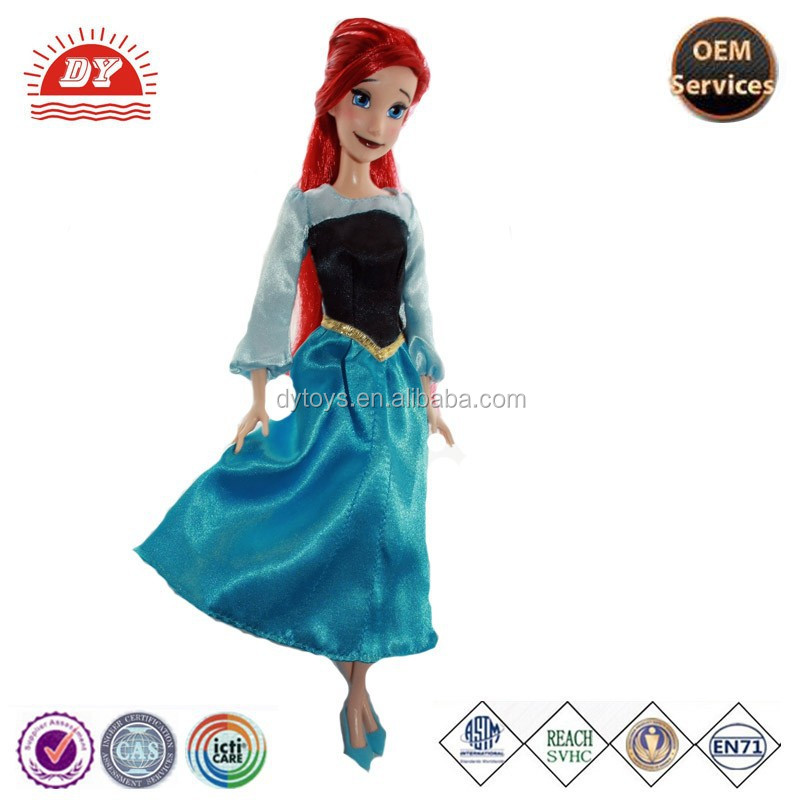 The Little Mermaid Ariel Full Body Doll