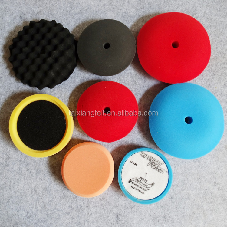 Wholesale China Trade non woven felt polishing wheel for stainless steel