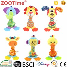 ZooTime New hot selling products plush toy fabric baby toys
