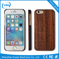 China factory engraved genuine wooden case for iphone 6/6S,custom logo original wood case for iphone 6/6S