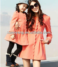 2016 New models brand apparel authentic brand clothing and clothes for mother and daughter