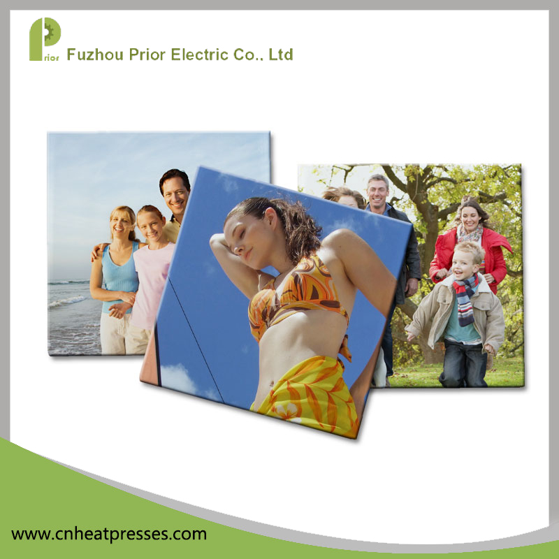 Prior High Quality 108x108x4mm Blank Sublimation Tiles Frame