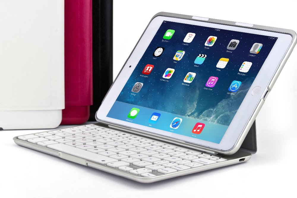 OEM welcome Factory Elegant Bluetooth keyboard Case for ipad mini 1/2/3