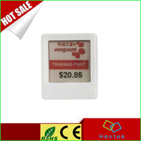 "1.54"" e-ink display supermarket digital price tags electronic shelf label"