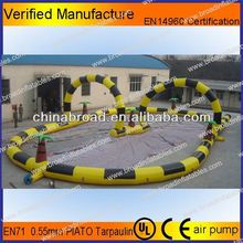 Durable and car track,inflatable track ,inflatable race