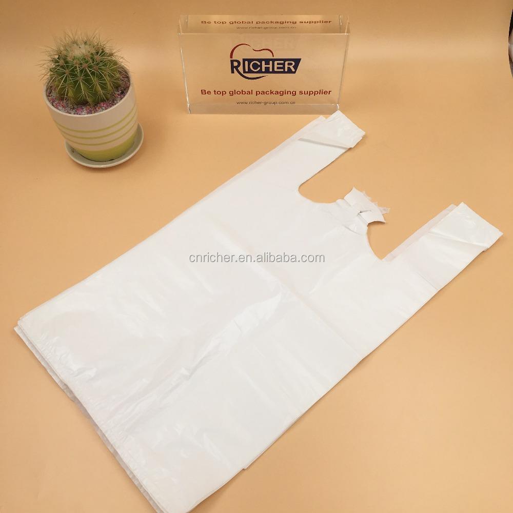 Custom Printed Packaging Bag T Shirt Plastic Bags Manufacturers