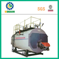 industrial use 10 ton steam gas boiler