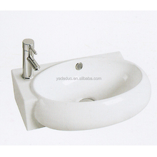 Fancy ceramic wash basin porcelain vanity top sinks public bathroom art hand basins for barber