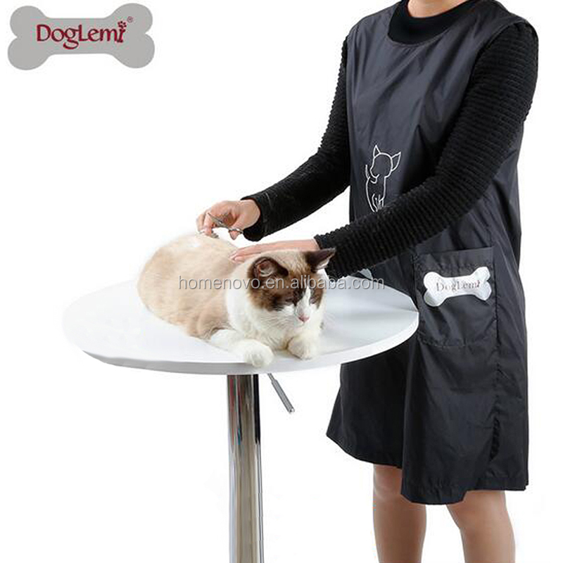 Waterproof Nylon Women Man Apron Pet Supplies Dog Cat Grooming Baths