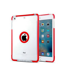 for ipad pro 10.5 inch case cover 2017 New Model Clear Shockproof Soft Flexible Transparent TPU Back Cover 9.7