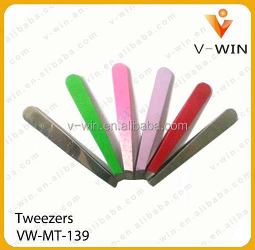 Hot Selling Manicure Tool eyelash extension tweezer