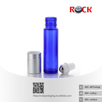 2015 hot sale cosmetic roll on bottle with roll on ball and lid