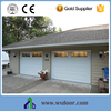 high quality galvanized steel sliding remote control garage door