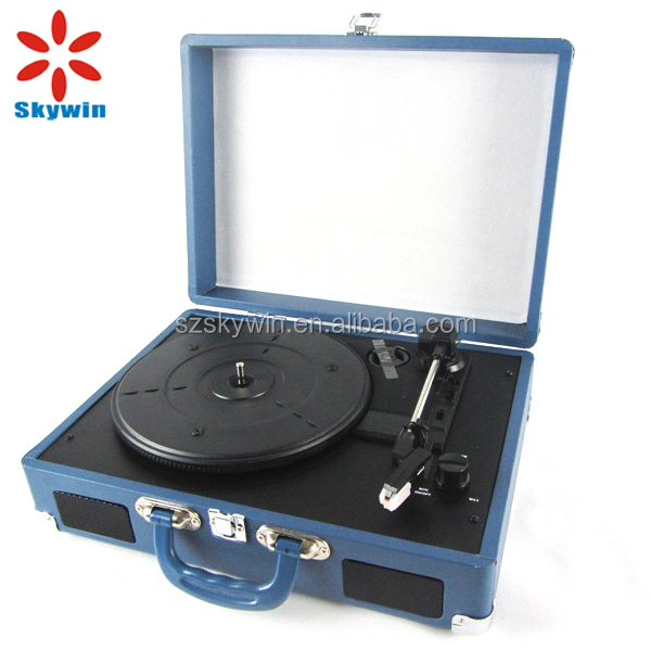 Professional Automatic Stereo Belt Drive Turntable USB Vinyl LP Record Player