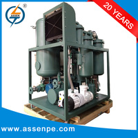 Easy operating turbine oil reclamation system