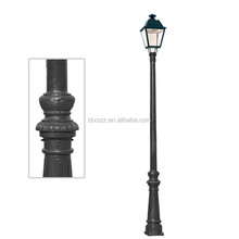 decorative street lighting pole, metal pole, street pole