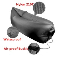 Cheap price nylon Inflatable Sleeping Bag for hot summer
