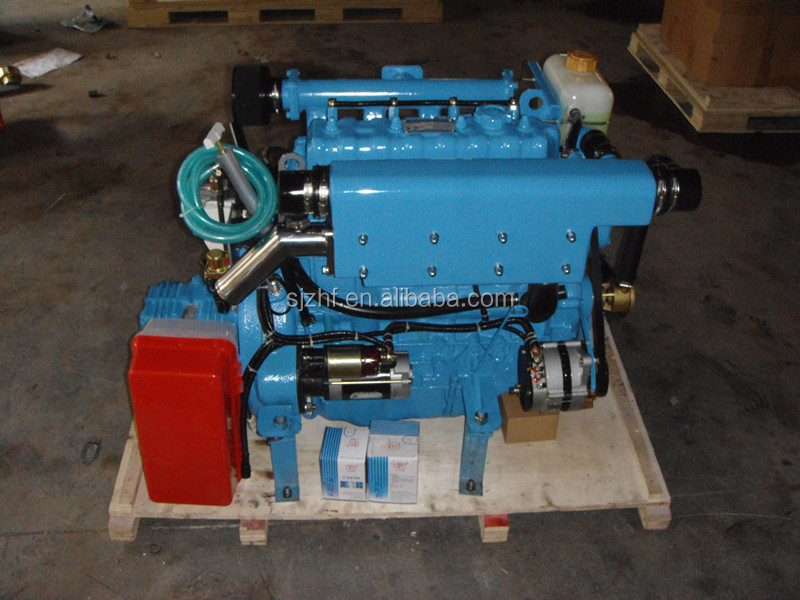 HF-490M 4-cylinder 60 hp marine diesel machine engine