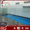 Top grade glass fence stainless steel spigot railing