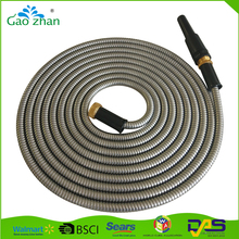 stainless steel corrugated hose for water 14mm metal garden pipes
