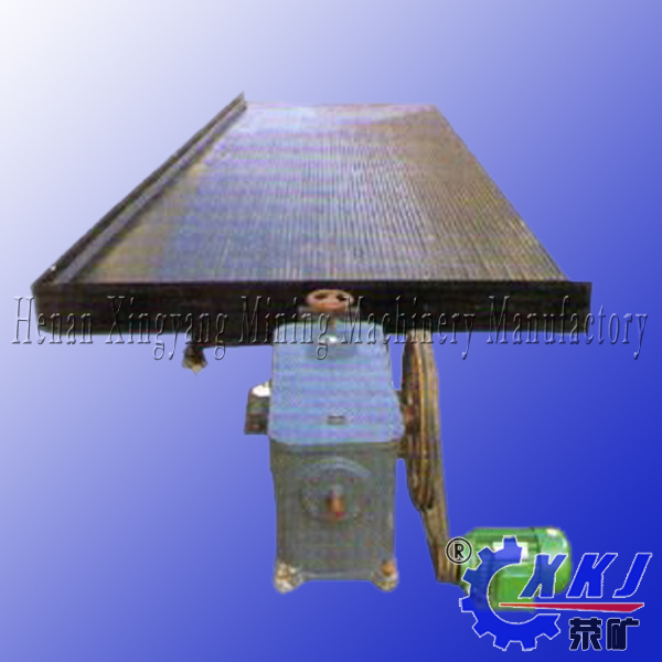 Gold, chrome, tin, tungsten ore mineral concentrated shaking table