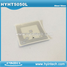 HF 13.56mhz book tracking adhesive tag for rfid library management system