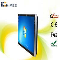 55 inch WIFI LCD all in one pc touch monitor full HD lcd monitor display (HQ55EW-C1,i3,i5,i7 cpu)