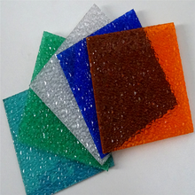 plastic embossed polycarbonate sheet with large diamond