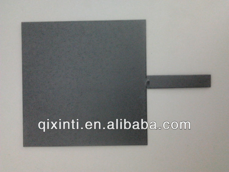 MMO Coated titanium plate for Level copper plating