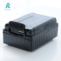 Ultra-long battery life solar power container gps tracker for waterproof IP65 M588L