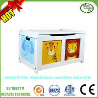 2017 Children Kids Storage Wooden Toy Boxes