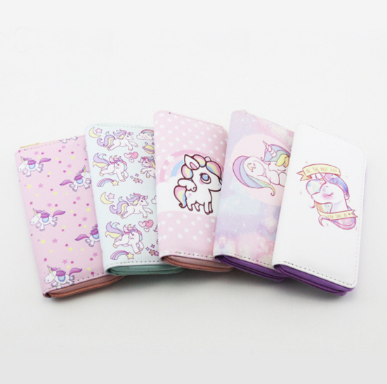 Printed Unicorn Pattern <strong>Wallet</strong> For Women