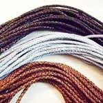 4.5 mm Braided Leather Cord