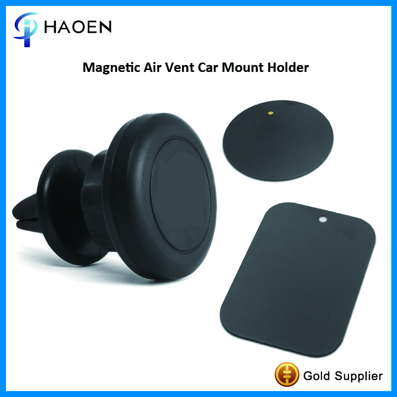 Factory Price Car Mount Adjustable Silicone Magnetic Air Vent Clip Phone Holder Stand and Mini Tablet Holder