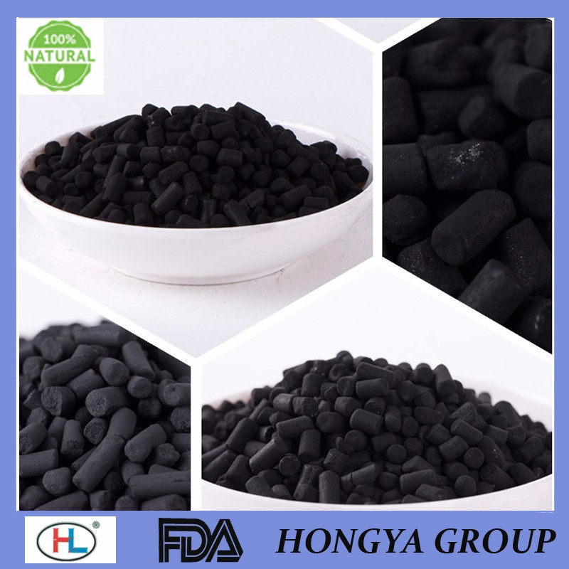 Factory High Iodine Value Lowest Price Raw Material Impregnation Silver Activated Carbon