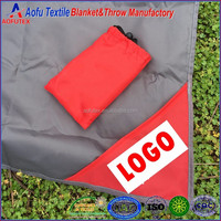 New style nylon martial portable Pocket rug travel picnic folding sand proof beach blanket