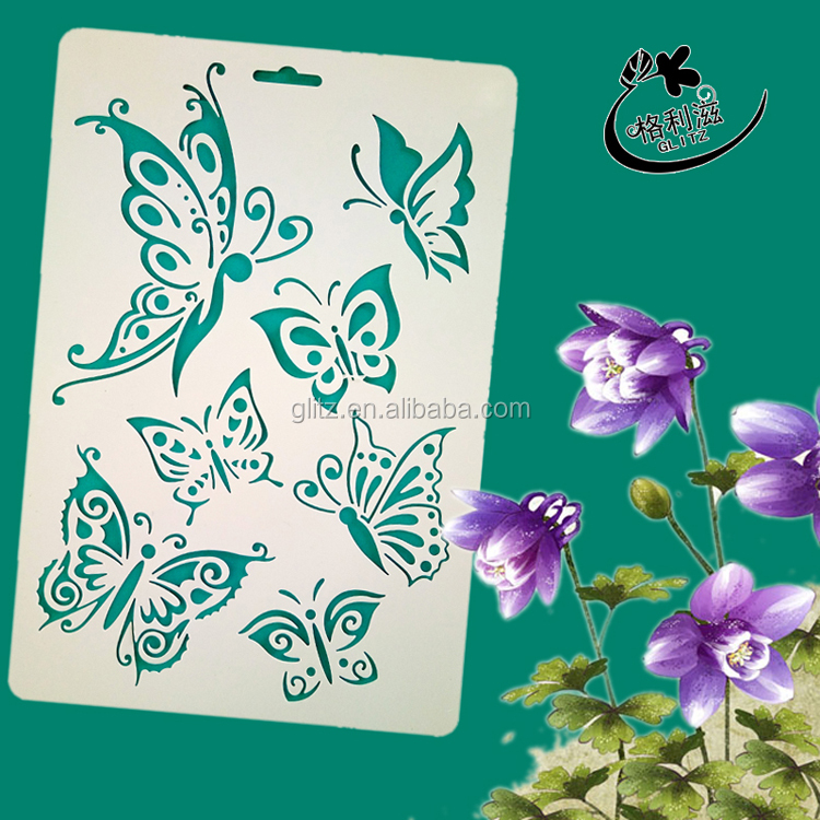 wall painting stencils for scrapbooking