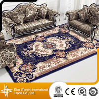 Popular Flower Design Wool Sculptured Rugs And Carpets